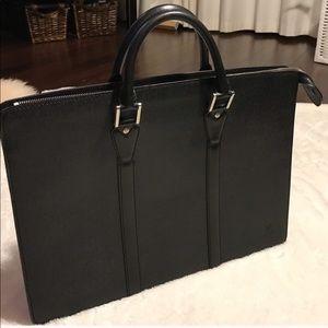 Louis Vuitton Style Briefcase